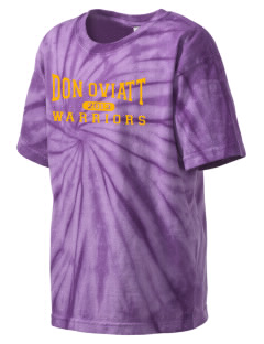 Don Oviatt Elementary School Warriors Kid's Tie-Dye T-Shirt