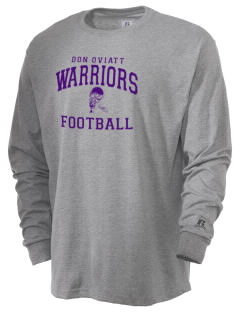 Don Oviatt Elementary School Warriors  Russell Men's Long Sleeve T-Shirt