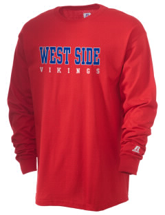 West Side School Vikings  Russell Men's Long Sleeve T-Shirt
