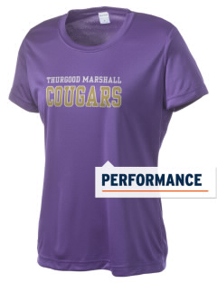 Thurgood Marshall High School Cougars Women's Competitor Performance T-Shirt