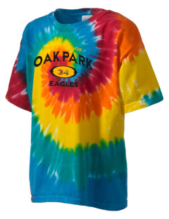 Oak Park Elementary School Eagles Kid's Tie-Dye T-Shirt