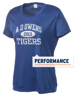 A D Owens Elementary School Tigers Women's Competitor Performance T-Shirt