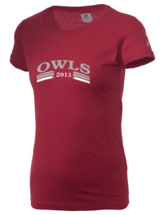 Western Coventry Elementary School Owls  Russell Women's Campus T-Shirt