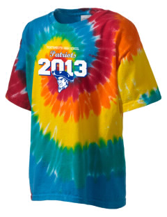 Portsmouth High School Patriots Kid's Tie-Dye T-Shirt