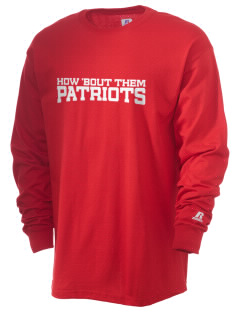 Portsmouth High School Patriots  Russell Men's Long Sleeve T-Shirt