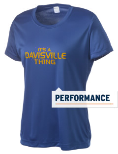 Davisville Middle School Dragons Women's Competitor Performance T-Shirt
