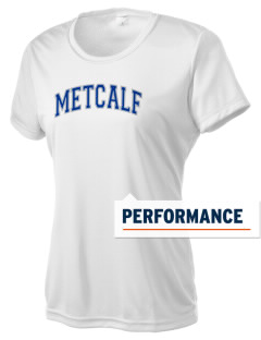 Metcalf Elementary School Mustangs Women's Competitor Performance T-Shirt