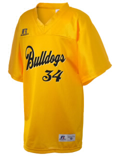 Pendleton Junior High School Bulldogs Russell Kid's Replica Football Jersey