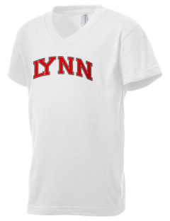 Lynn High School Bears Kid's V-Neck Jersey T-Shirt