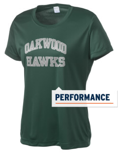 Oakwood High School Hawks Women's Competitor Performance T-Shirt