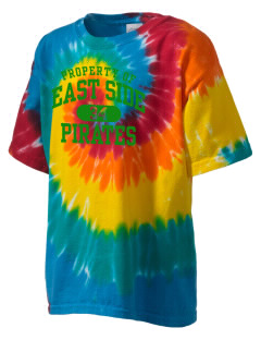 East Side Elementary School Pirates Kid's Tie-Dye T-Shirt