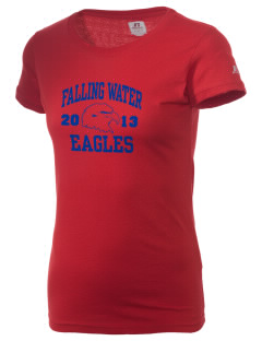 Falling Water Elementary School Eagles  Russell Women's Campus T-Shirt