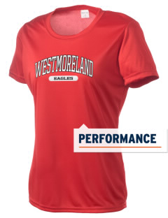 Westmoreland High School Eagles Women's Competitor Performance T-Shirt