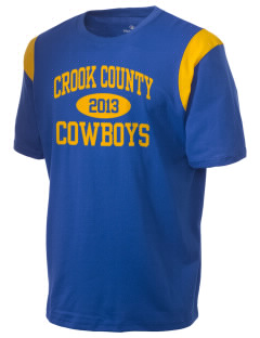 Crook County High School Cowboys Holloway Men's Rush T-Shirt