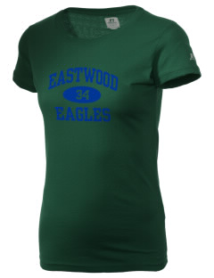 Eastwood Elementary School Eagles  Russell Women's Campus T-Shirt