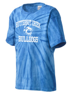 Butternut Creek Elementary School Bulldogs Kid's Tie-Dye T-Shirt
