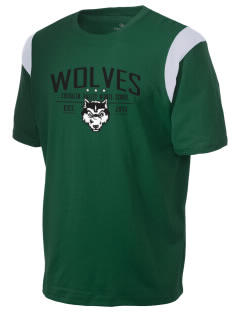 Chehalem Valley Middle School Wolves Holloway Men's Rush T-Shirt