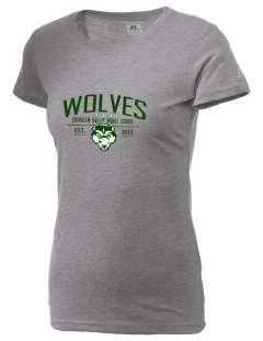 Chehalem Valley Middle School Wolves  Russell Women's Campus T-Shirt