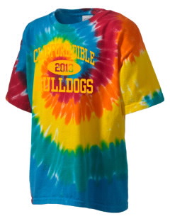 Clifford Dible Elementary School Bulldogs Kid's Tie-Dye T-Shirt