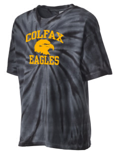 Colfax Elementary School Eagles Kid's Tie-Dye T-Shirt