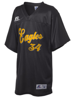 Colfax Elementary School Eagles Russell Kid's Replica Football Jersey