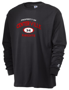 Centerville Junior High School Knights  Russell Men's Long Sleeve T-Shirt