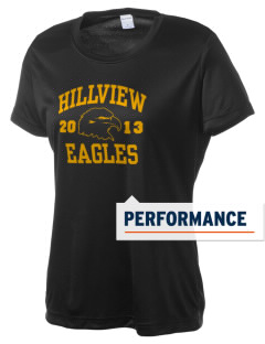 Hillview Intermediate Center Eagles Women's Competitor Performance T-Shirt