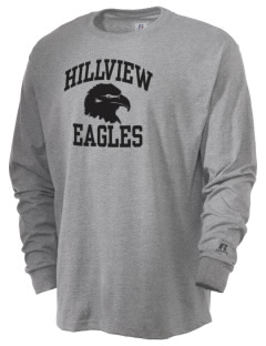 Hillview Intermediate Center Eagles  Russell Men's Long Sleeve T-Shirt