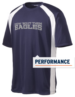 Warrior Run Middle School Eagles Men's Dry Zone Colorblock T-Shirt