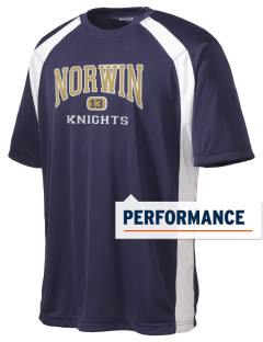 Norwin High School Knights Men's Dry Zone Colorblock T-Shirt