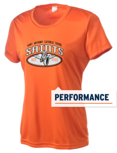 Saint Anthony Catholic School Saints Women's Competitor Performance T-Shirt