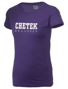 Chetek High School Bulldogs  Russell Women's Campus T-Shirt