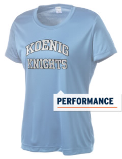 Koenig Elementary School Knights Women's Competitor Performance T-Shirt