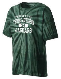 Thomas Jefferson Elementary School Jaguars Kid's Tie-Dye T-Shirt