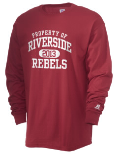 Riverside High School Rebels  Russell Men's Long Sleeve T-Shirt