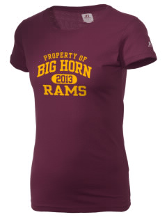 Big Horn Elementary School Rams  Russell Women's Campus T-Shirt