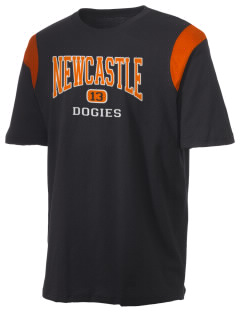 Newcastle High School Dogies Holloway Men's Rush T-Shirt