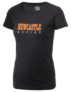 Newcastle High School Dogies  Russell Women's Campus T-Shirt