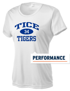 Tice Elementary School Tigers Women's Competitor Performance T-Shirt