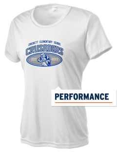 Crockett Elementary School Crusaders Women's Competitor Performance T-Shirt