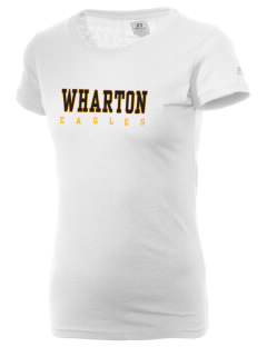 Wharton Elementary School Eagles  Russell Women's Campus T-Shirt