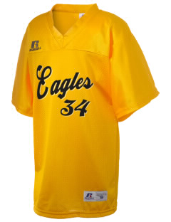 Wharton Elementary School Eagles Russell Kid's Replica Football Jersey