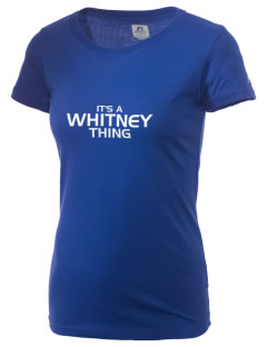 Whitney High School Wildcats  Russell Women's Campus T-Shirt