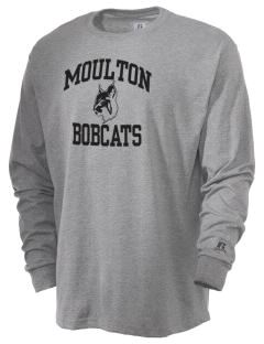 Moulton High School Bobcats  Russell Men's Long Sleeve T-Shirt