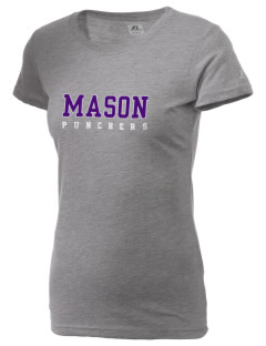 Mason High School Punchers  Russell Women's Campus T-Shirt