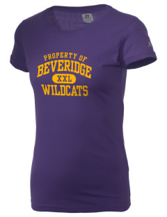 Beveridge Elementary School Wildcats  Russell Women's Campus T-Shirt