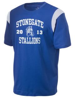 Stonegate Elementary School Stallions Holloway Men's Rush T-Shirt
