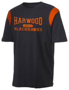 Harwood Junior High School Blackhawks Holloway Men's Rush T-Shirt