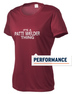 Patti Welder Middle School Panthers Women's Competitor Performance T-Shirt