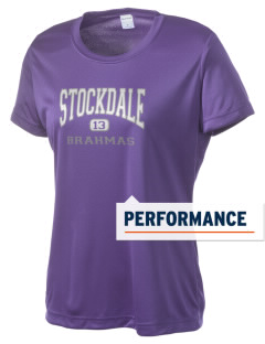 Stockdale Junior High School Brahmas Women's Competitor Performance T-Shirt